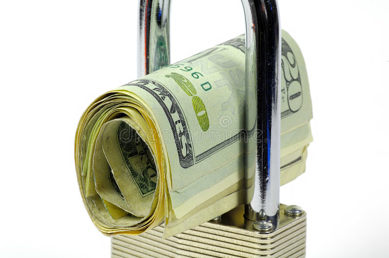 Assicuri La Transazione Immagine Stock Libera da Diritti