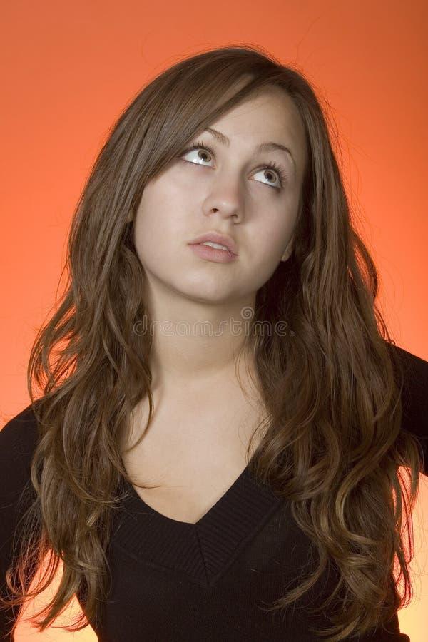 Assiette de l'adolescence image libre de droits