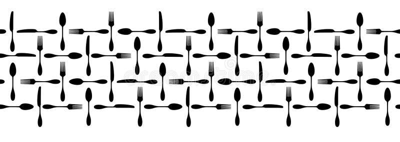assiettes illustration libre de droits
