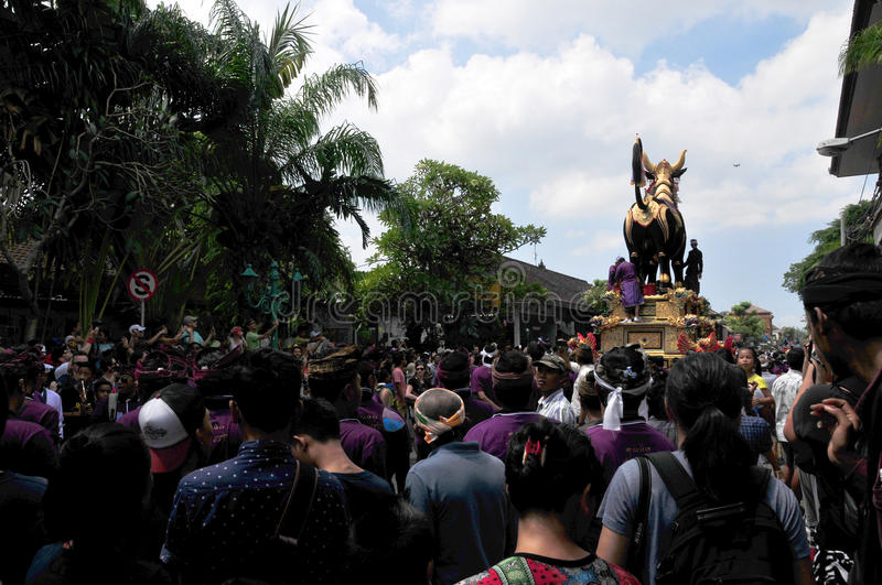 `assignment files` Royal Cremation Ceremony , Bali, Indonesia , Asi royalty free stock images