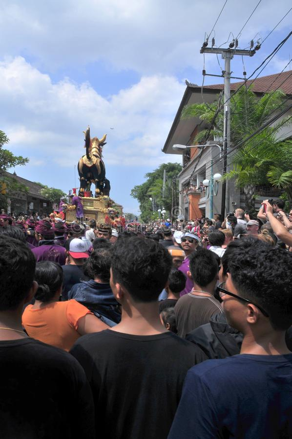 `assignment files` Royal Cremation Ceremony , Bali, Indonesia , Asi royalty free stock photos
