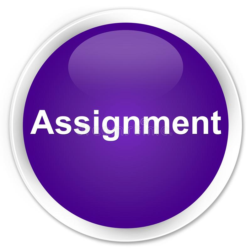Assignment Premium Red Tag Sign Stock Illustration