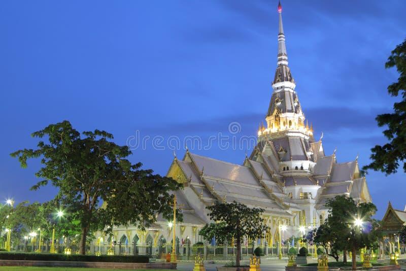 Assim Thorn Temple em Tailândia fotos de stock royalty free