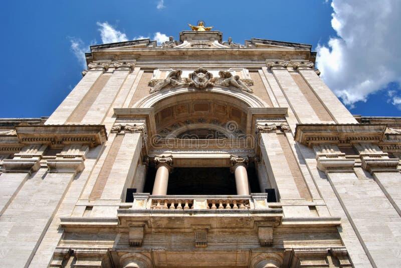Assisi, święty Mary aniołowie obraz stock