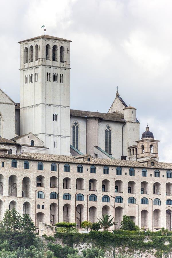 Assisi в детали Италии Умбрии стоковые изображения