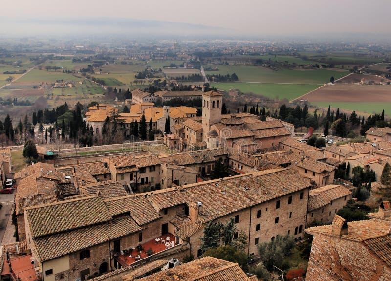 Assisi, Италия стоковая фотография rf