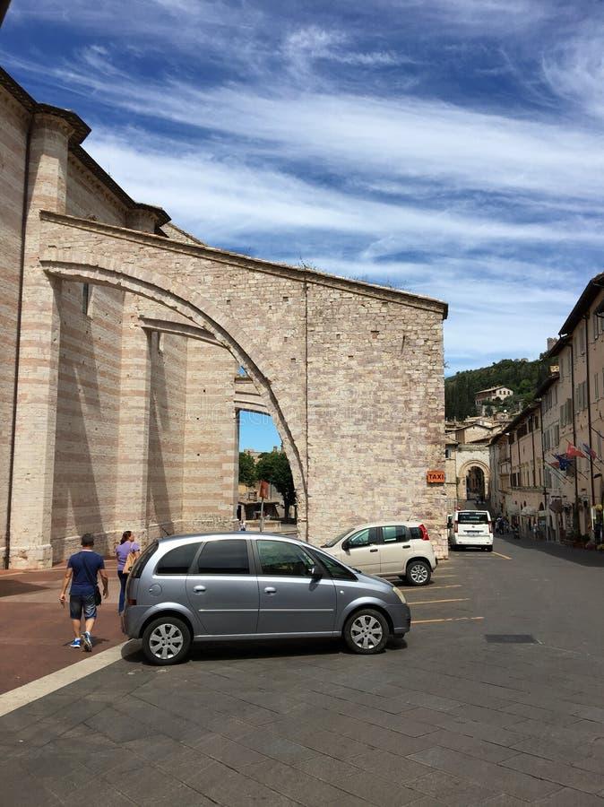 assisi Италия стоковое изображение