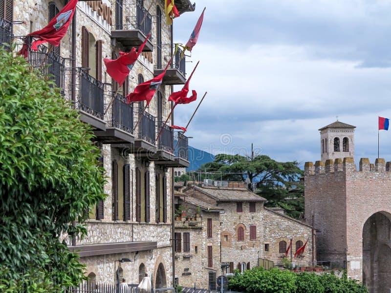 Assisi, Италия стоковое фото