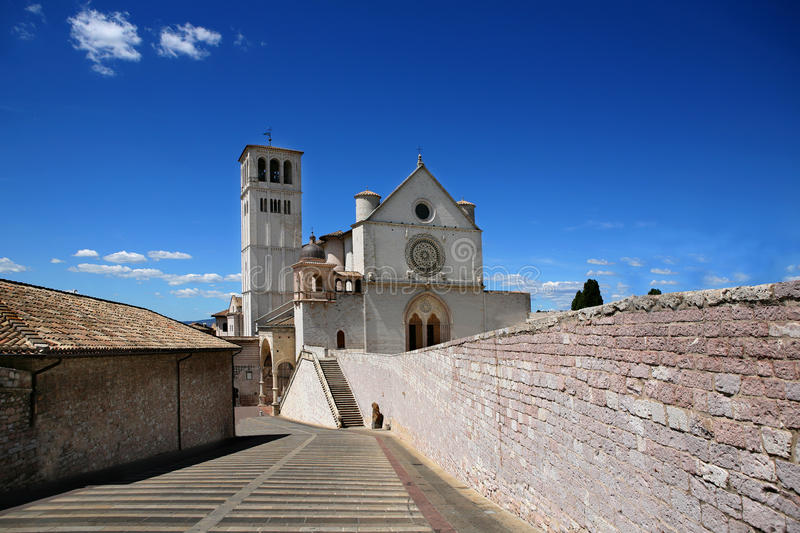 Assisi stock afbeelding