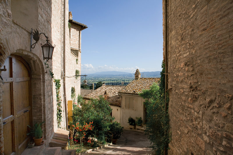 Assisi photo libre de droits