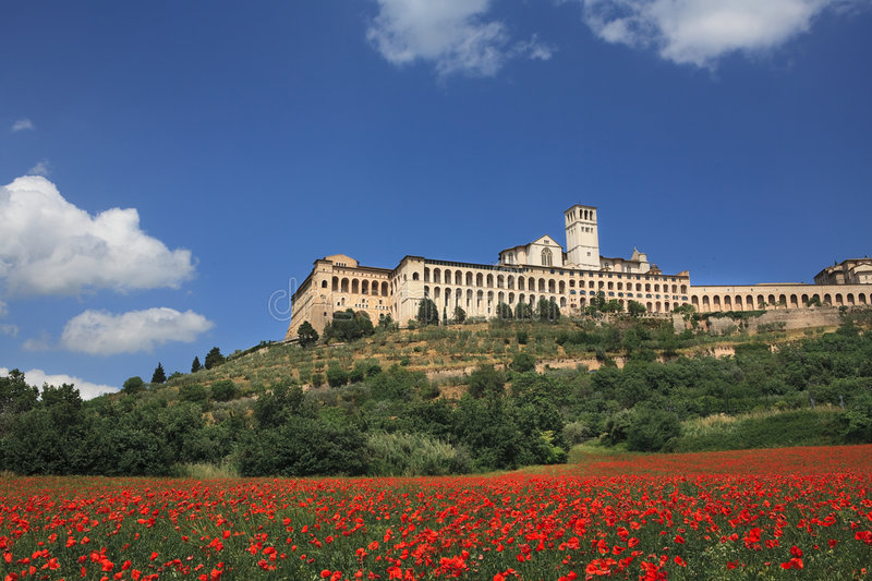 Assisi stock fotografie