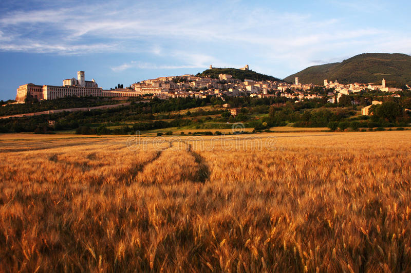 assisi photographie stock