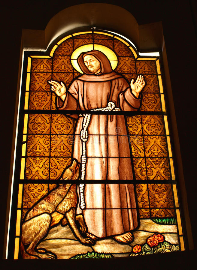 assisi Francis st obrazy royalty free