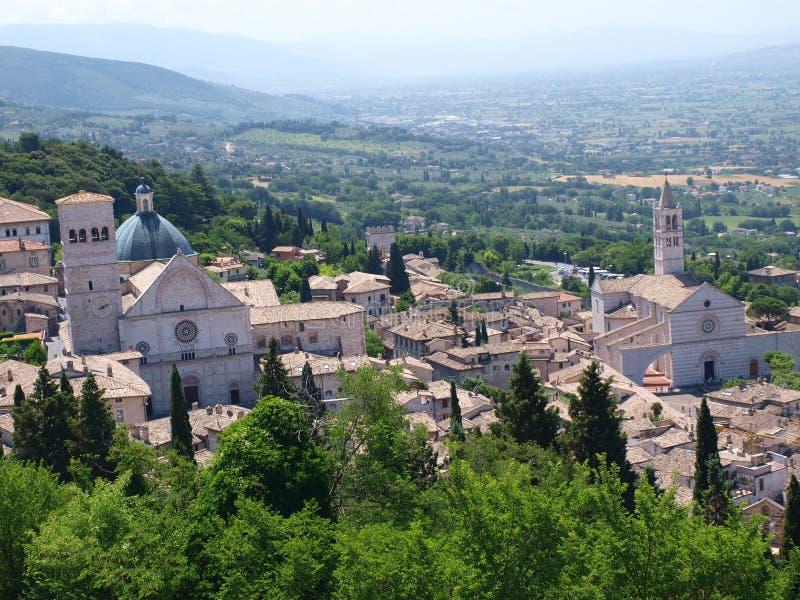 Assisi, Italia fotografie stock libere da diritti