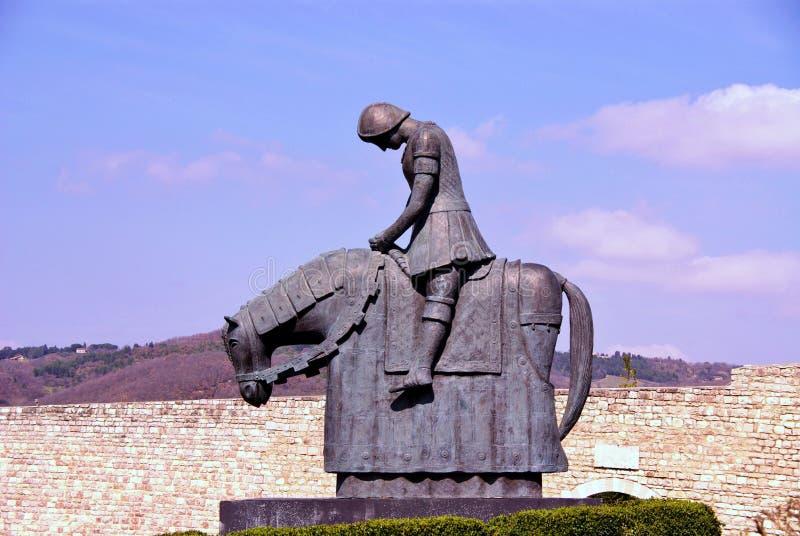 Assisi in Italien stockfotos