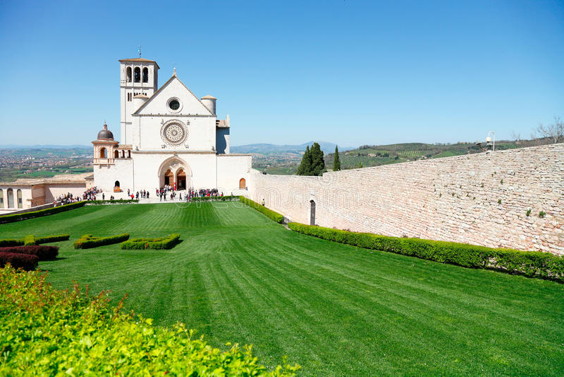 assisi Italy zdjęcie stock