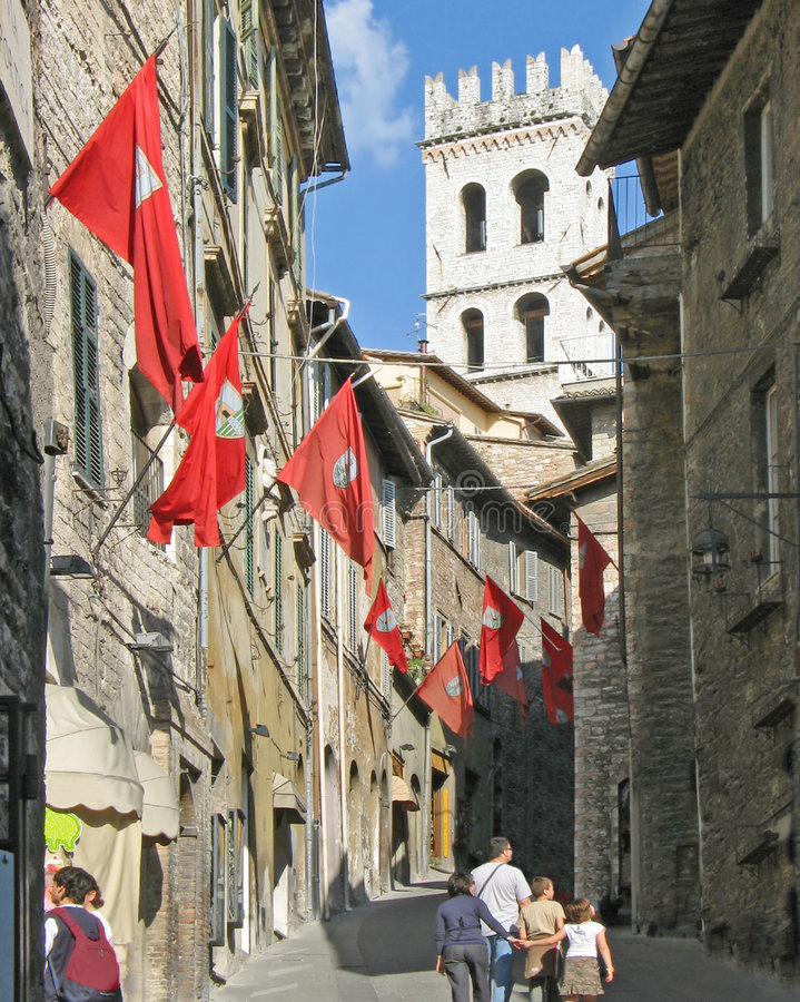 Assisi, Italy royalty free stock image