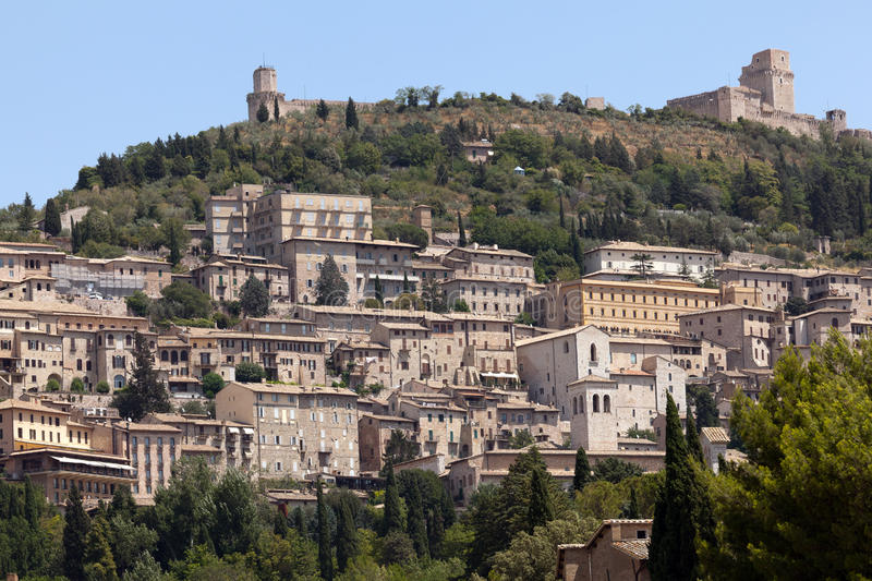 Download Assisi, Italy stock photo. Image of landscape, city, building - 26262100