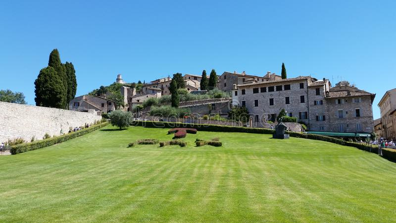 Assisi & x28; italy& x29; paz imagens de stock royalty free