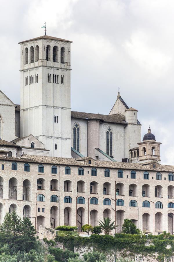 Assisi in Italy Umbria Detail stock images