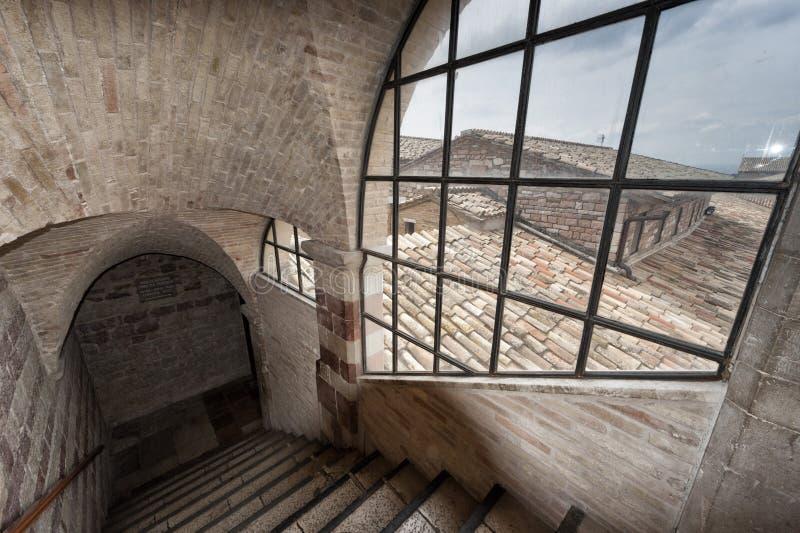 Assisi kopuły świętego Francis kościół obraz royalty free
