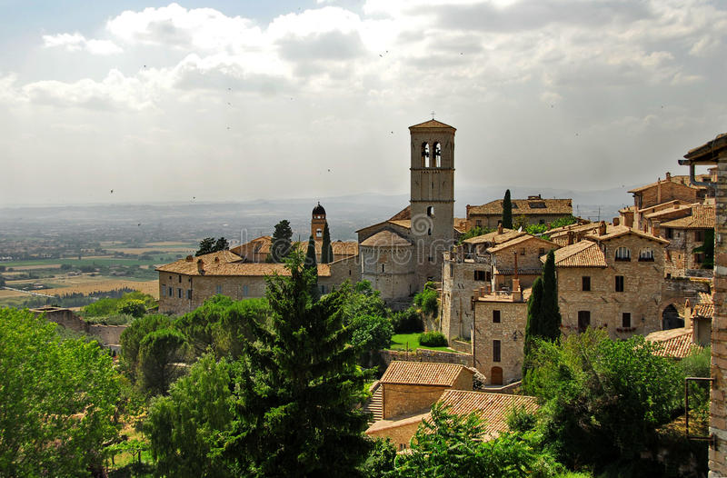 Assisi, Ombrie photos stock