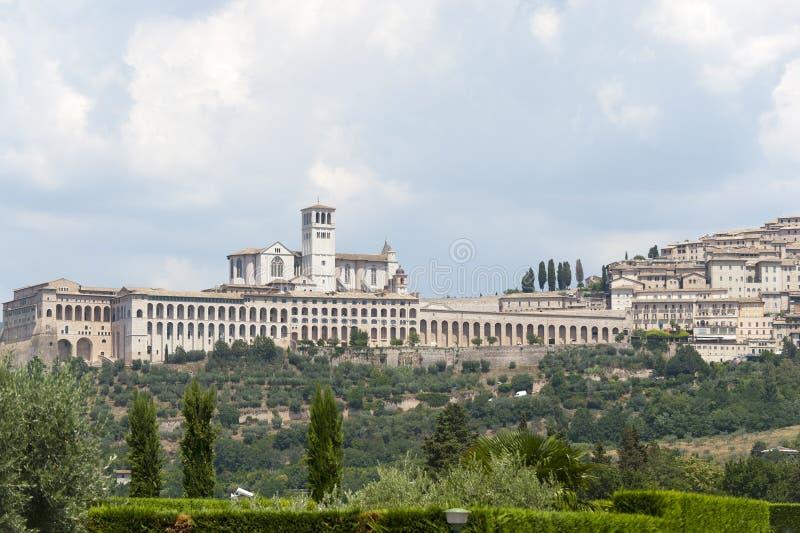 Assisi, panoramic view