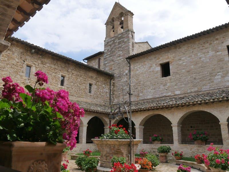 Assisi - St Damiano святилища стоковое изображение