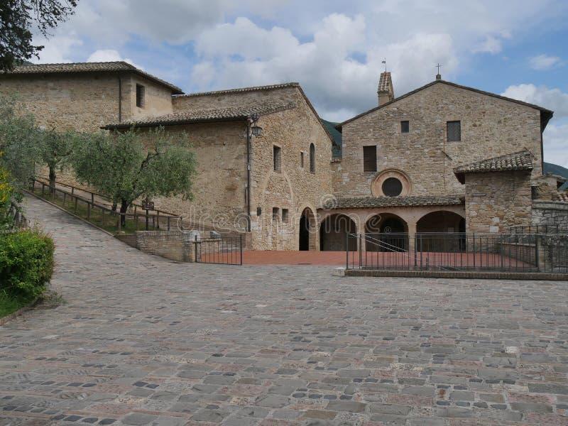 Assisi - St Damiano святилища стоковое изображение rf