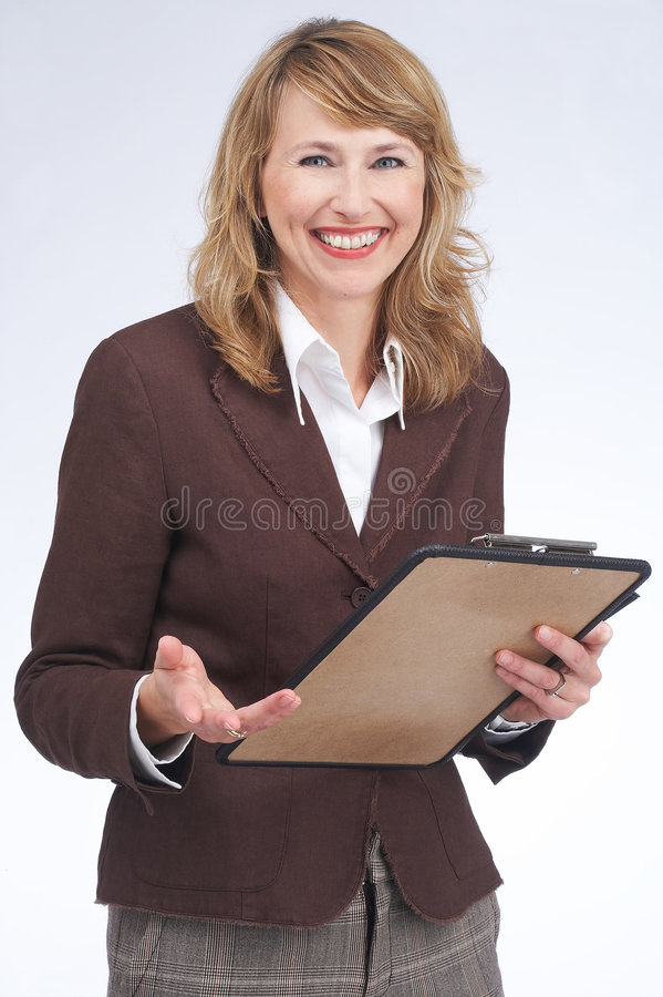 Download Assistant stock photo. Image of businesswoman, employee - 1411888
