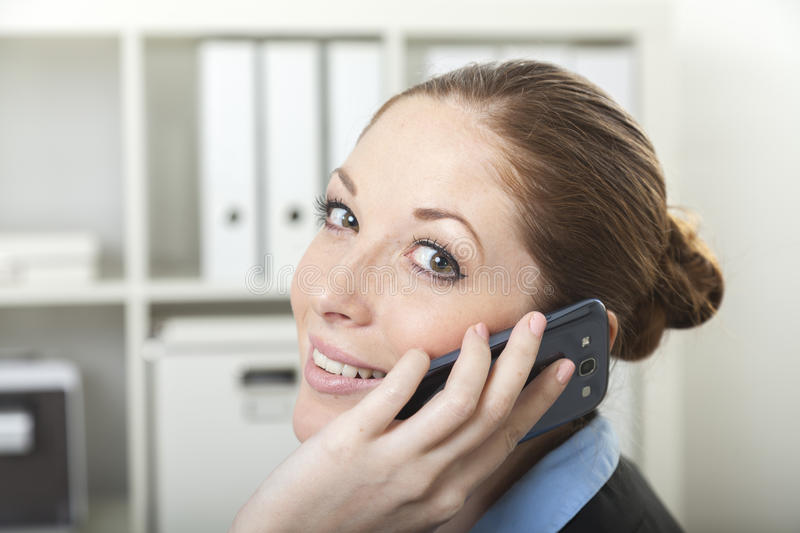 Assistant de helpdesk image stock