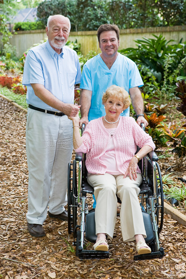 Free Assisted Living Royalty Free Stock Photography - 5568047