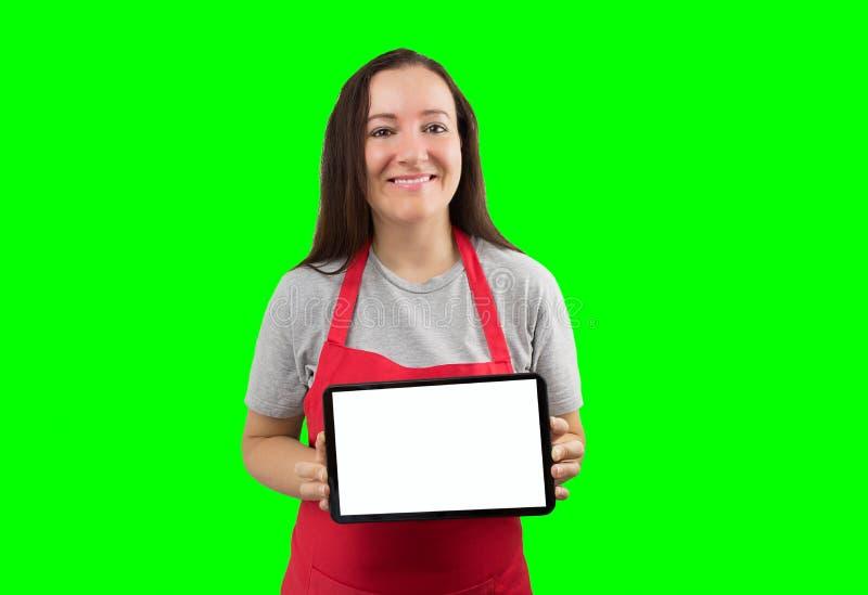 Assistent med kromtangent arkivfoto