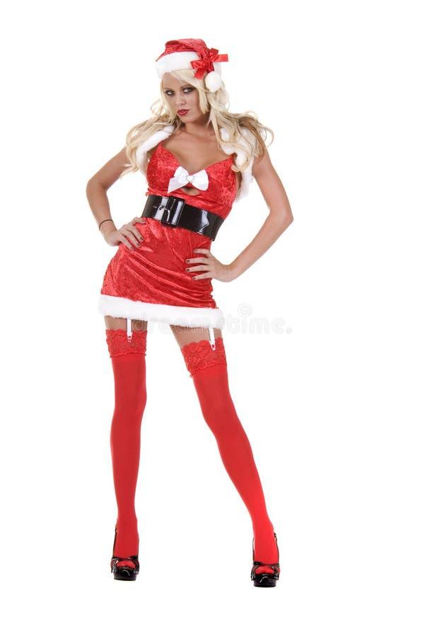 Assistente della Santa di natale immagini stock