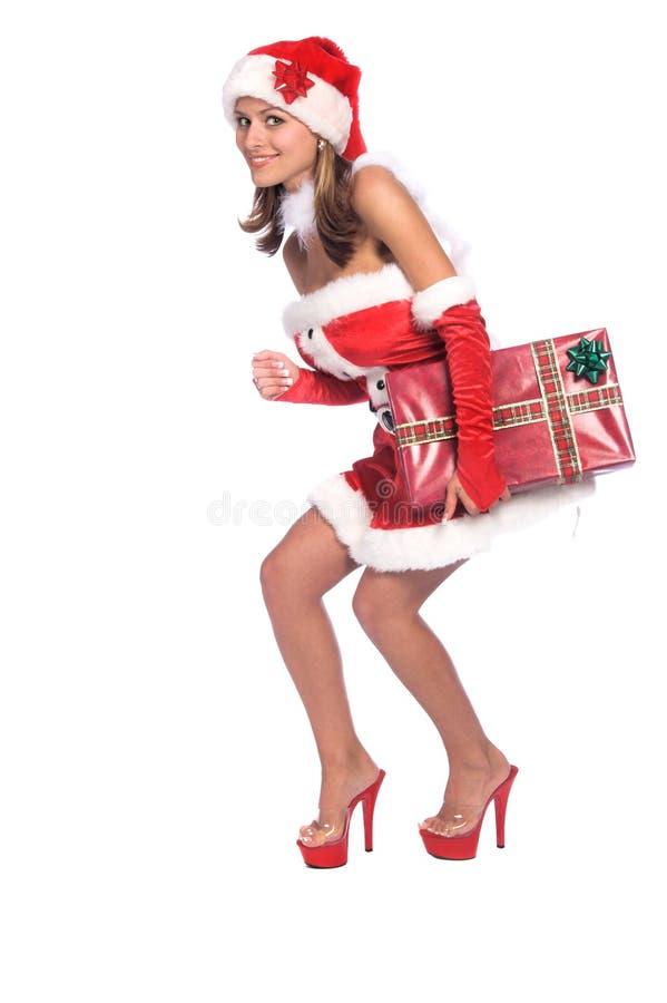 Assistente sexy della Santa fotografia stock libera da diritti