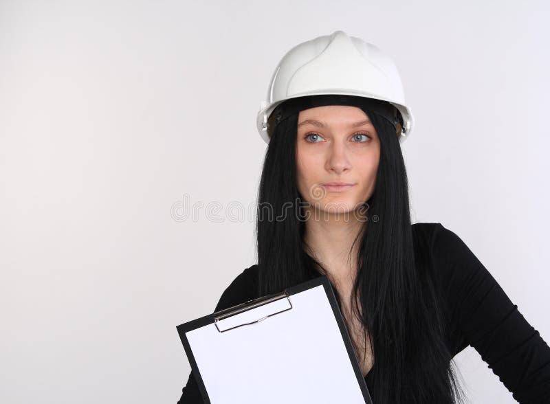 Assistente tecnico femminile fotografia stock libera da diritti