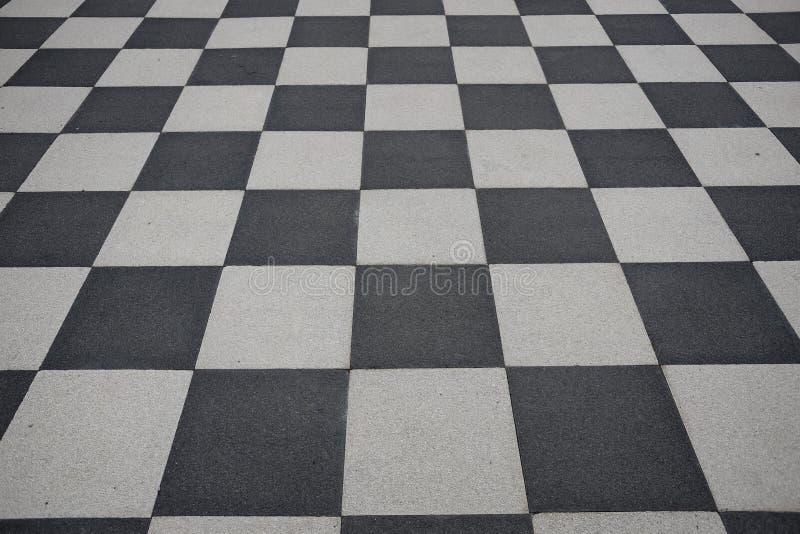 Assoalho Checkered imagens de stock royalty free
