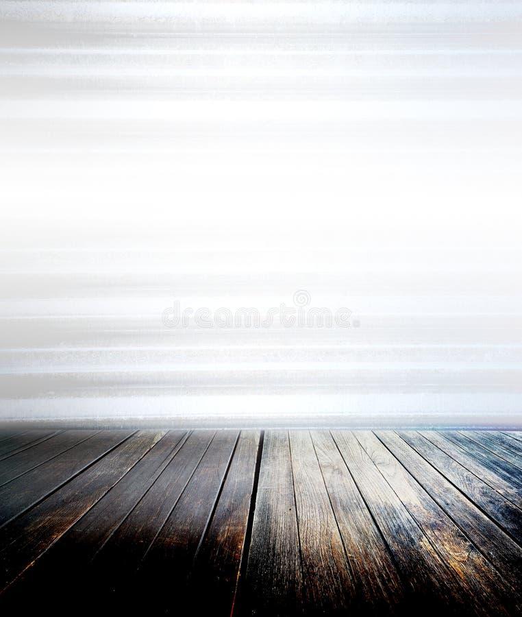 Assoalho de madeira foto de stock