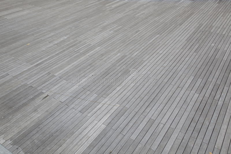 Assoalho de madeira cinzento imagens de stock royalty free
