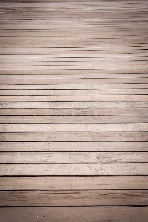 Assoalho de madeira velho imagens de stock royalty free