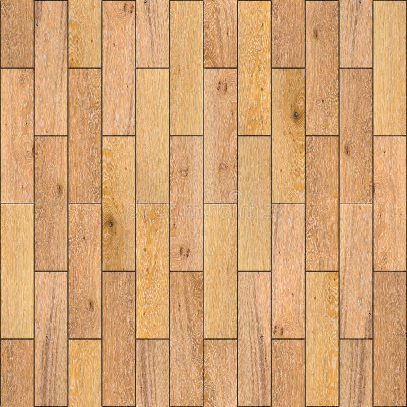 Assoalho de parquet de madeira amarelo. Textura sem emenda. foto de stock royalty free