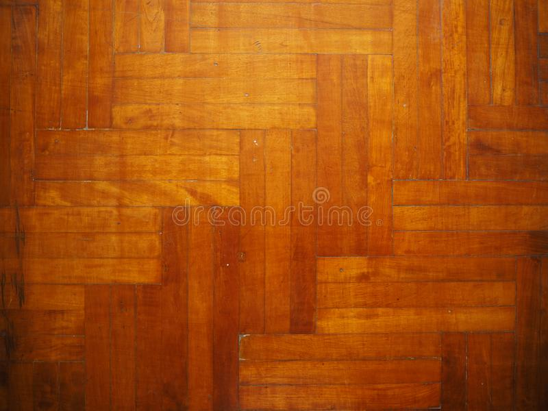 Assoalho de parquet de madeira, assoalho de Pake foto de stock