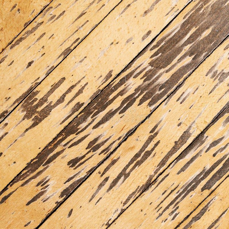 Assoalho de parquet velho imagem de stock