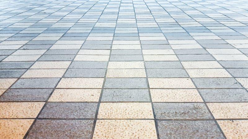 Assoalho de telha da xadrez imagem de stock royalty free