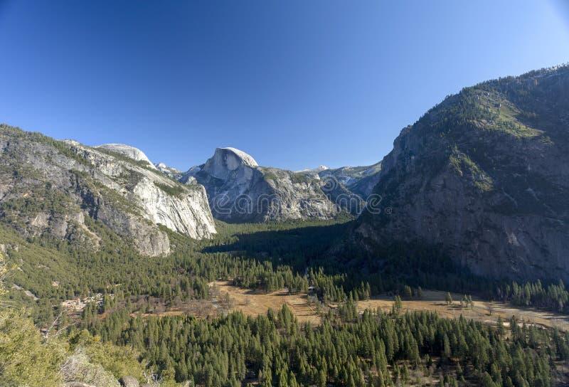 Assoalho do vale de Yosemite foto de stock