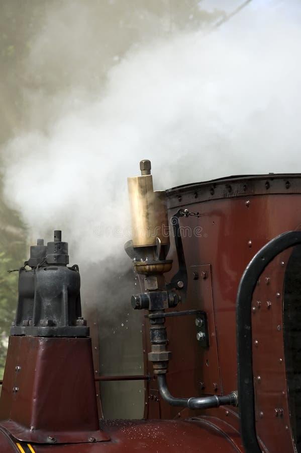 Assobio de vapor imagens de stock