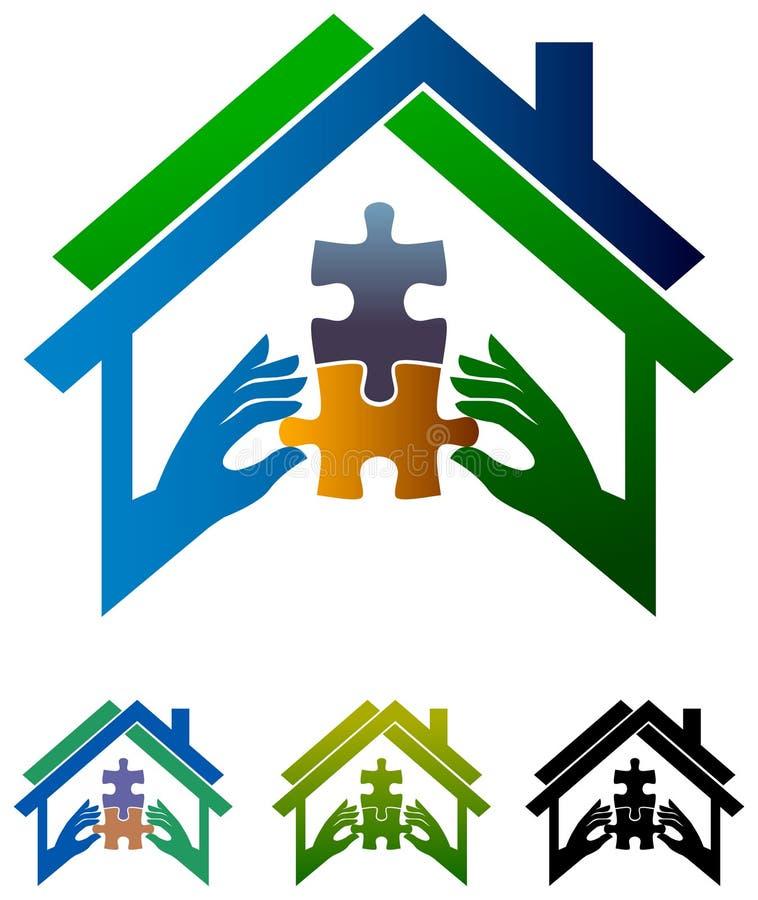 Associé d'immobiliers illustration stock