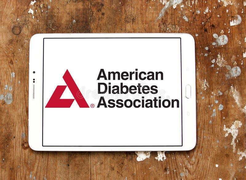 Associação americana do diabetes, ADA, logotipo fotografia de stock