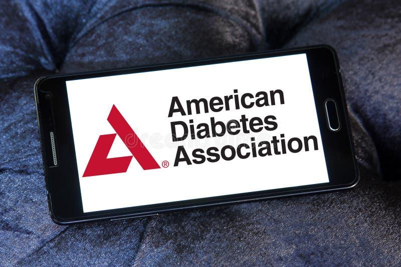 Associação americana do diabetes, ADA, logotipo fotos de stock royalty free