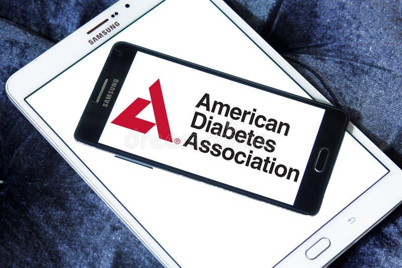 Associação americana do diabetes, ADA, logotipo foto de stock